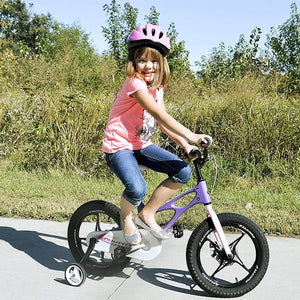 "RoyalBaby Space Shuttle Magnesium Kids Bike 16""-Purple"