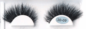 'TOTAL QUEEN' - 100% / 3D Mink LASHES (Aqua) up to 20 wears