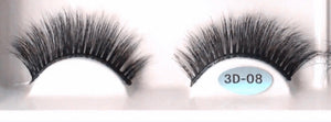 'Seriously Sassy' - 100% / 3D Mink LASHES (Aqua) up to 20 wears