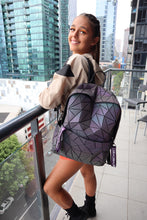 Load image into Gallery viewer, 'Comma comma Chameleon' Holographic Prism Bag