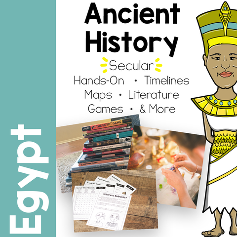 Ancient Egypt Unit Study by Royal Baloo
