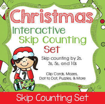 Christmas Skip Counting Set