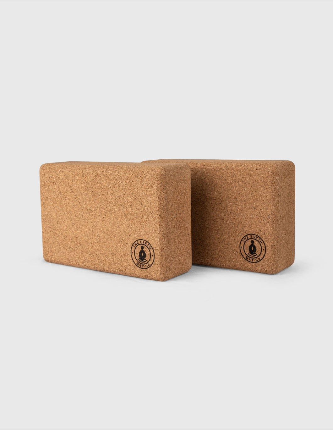 100% Cork Yoga Block set