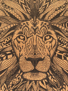 Lion Head Cork Yoga mat