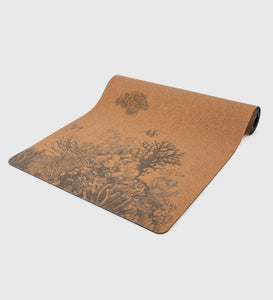 Coral Reef Cork Yoga Mat