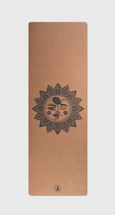 Sun & Moon Cork Yoga mat