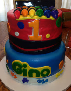 Crayola Crayon Cake Customized with Any Age and Colors