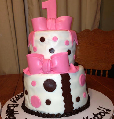 Cake Customized with Any Age and Colors