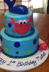 Kids Cake Customized with their  Favorite Sea Life or Animal