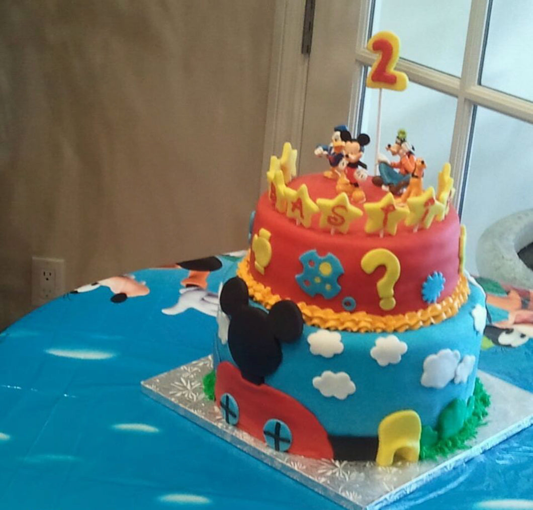 Mickey Mouse Disney Large Cake