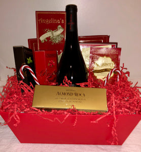 Bubbly and Sweets Gift Basket