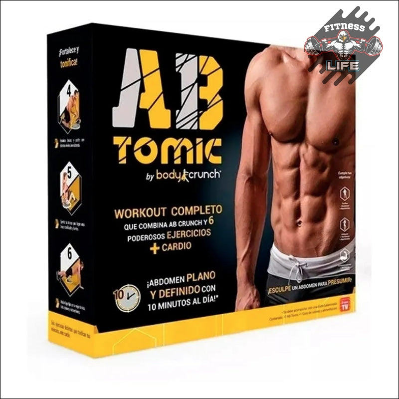 Multifuncional Ab Tomic Fitness