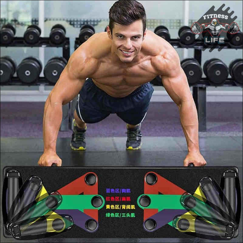 Push Up Board 9 System Fitness