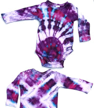 Load image into Gallery viewer, Tie Dyed Long Sleeve Onesie