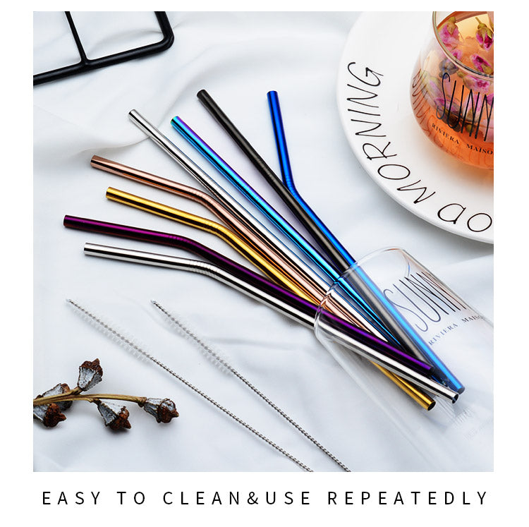 Pass On Plastic, Save Our Oceans With A Stainless Steel Straw
