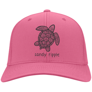 Neon pink Sea turtle cap