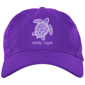 Purple Sea turtle cap