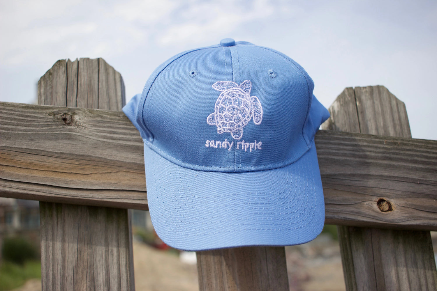 Blue Sea turtle hat