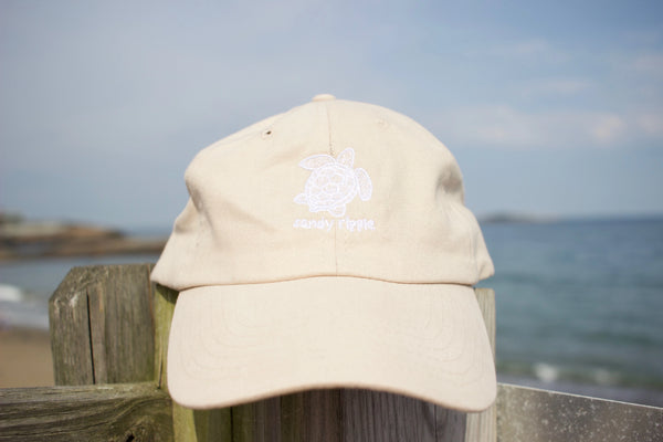 Stone sea turtle hat