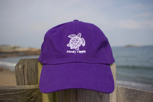 Purple Sea turtle hat