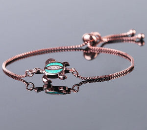 Opal Adjustable Chain Bracelet