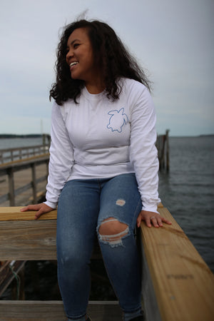 The Subtle Starfish Long Sleeve T (Front+Back)