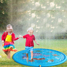 Load image into Gallery viewer, Sprinkle Pad Splash Play Mat, Inflatable Outdoor Water Toys for Children