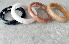 Load image into Gallery viewer, Marble Resin Bangles Thick