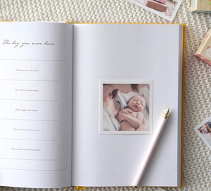 Baby Keepsake Journal & Memories Book by Truly Amor