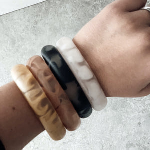Marble Resin Bangles