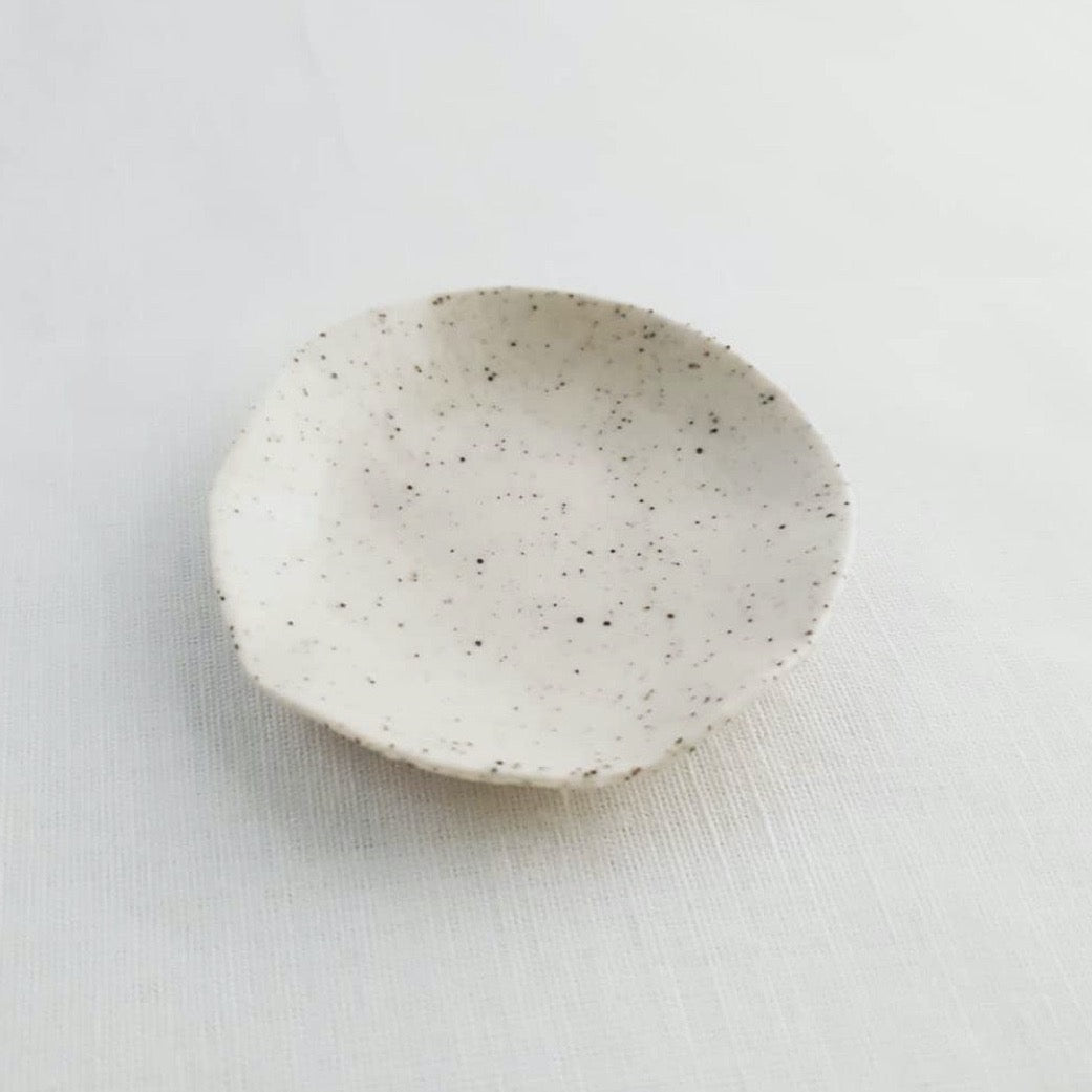 Stone ceramic small dish