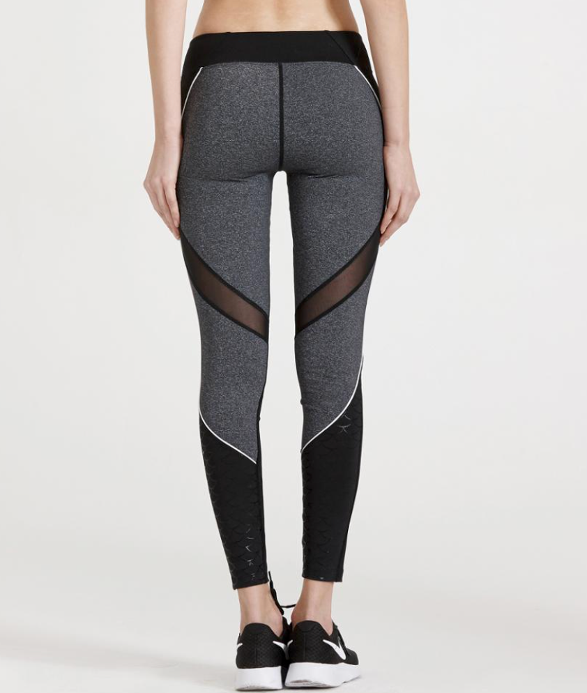 Leggings ByEd - Slim Grey