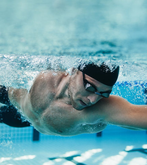 calories burned swimming