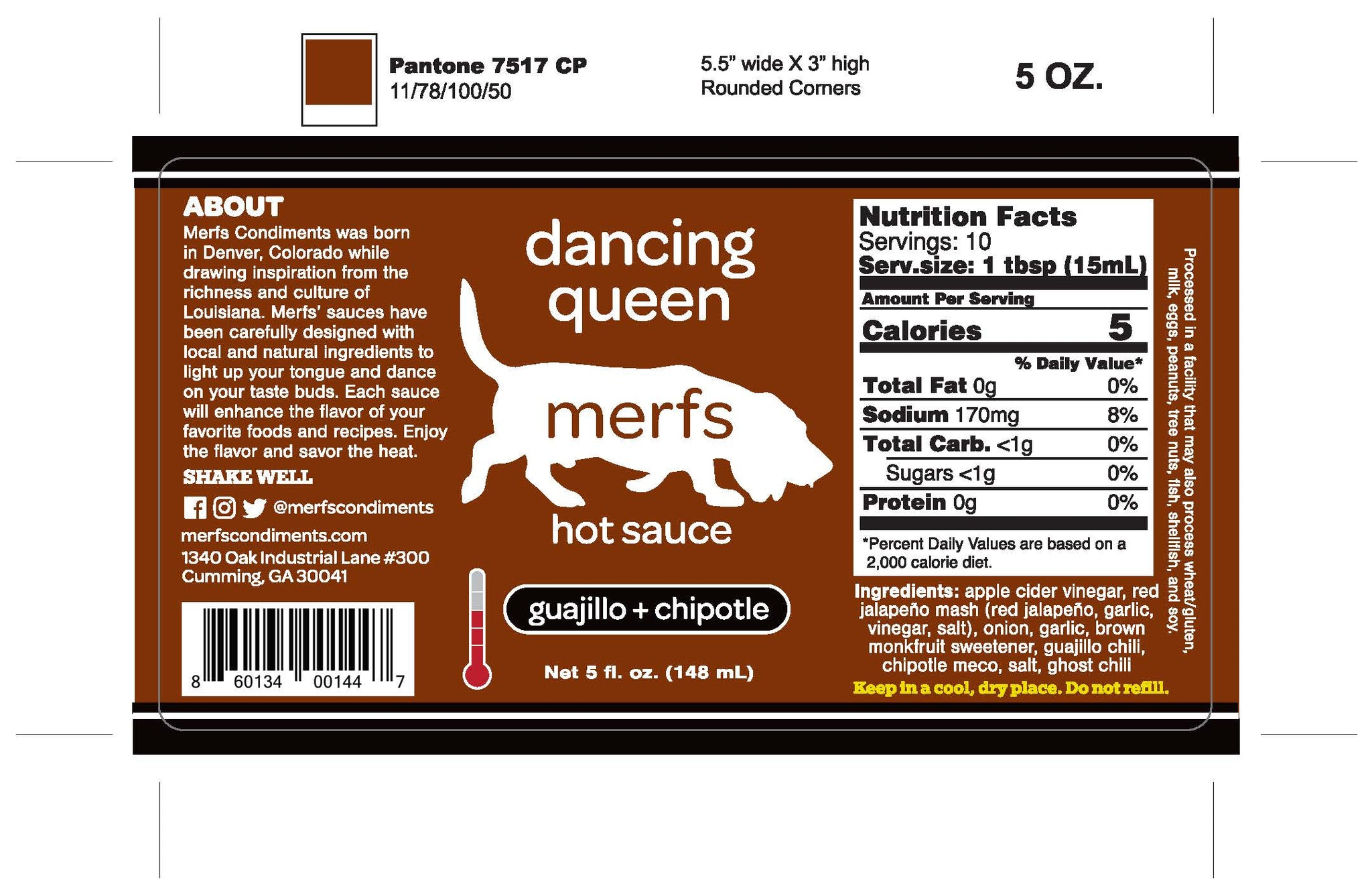 Dancing Queen Hot Sauce - Merfs Condiments