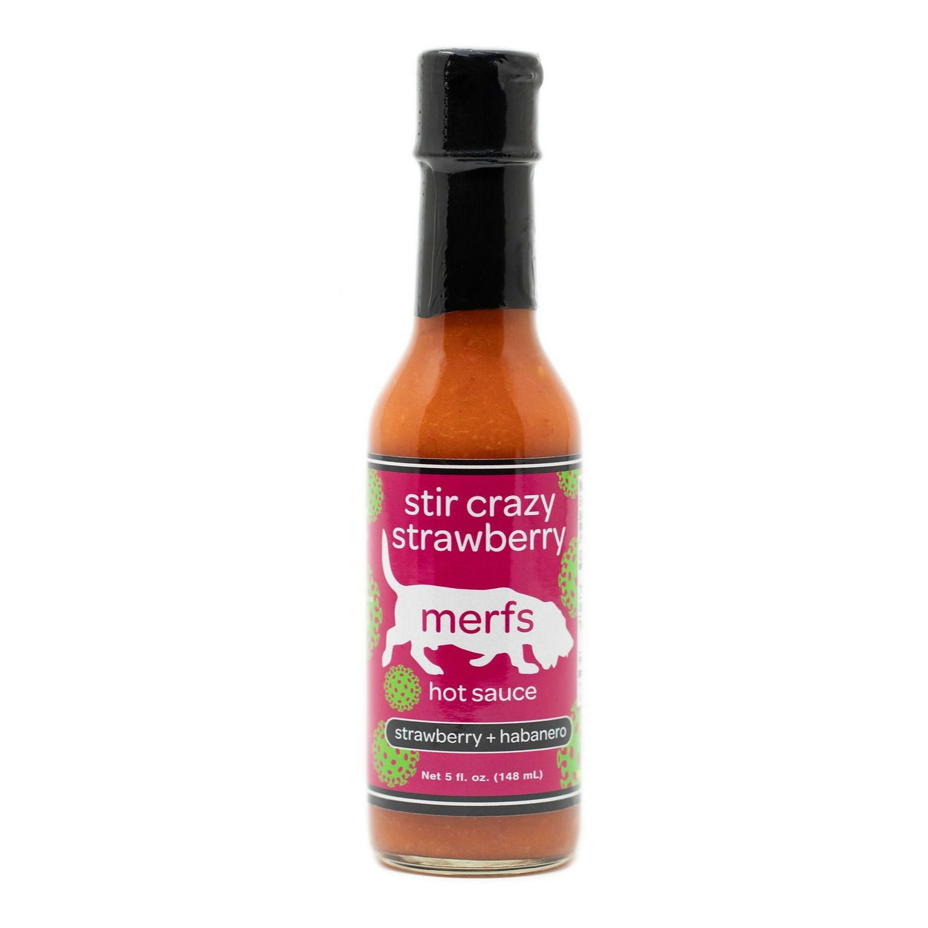 Stir Crazy Strawberry Hot Sauce - Merfs Condiments