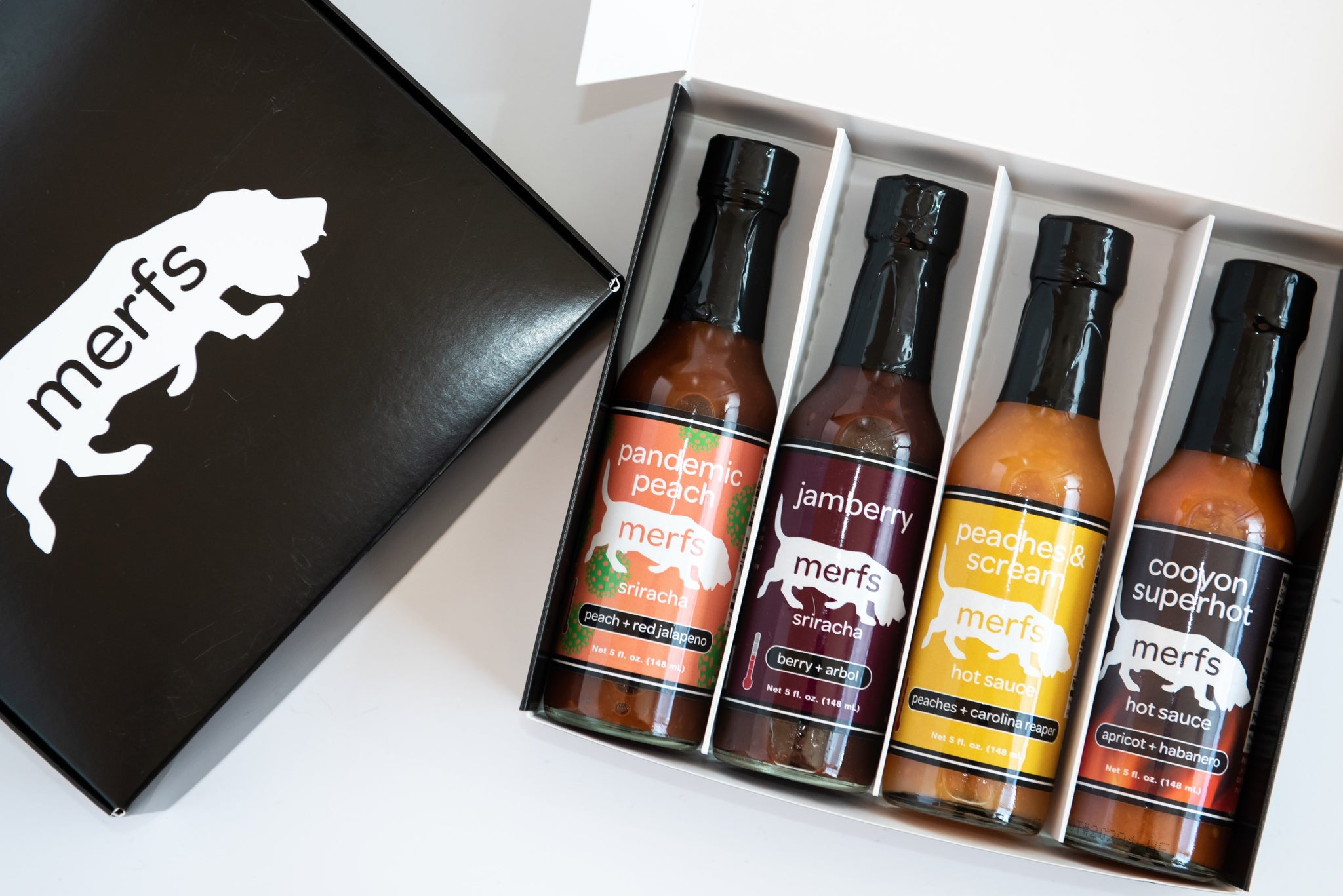 Merfs 'Make Your Own' 4 Pack - Merfs Condiments