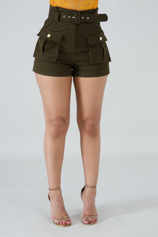 Paperbag shorts ABBY