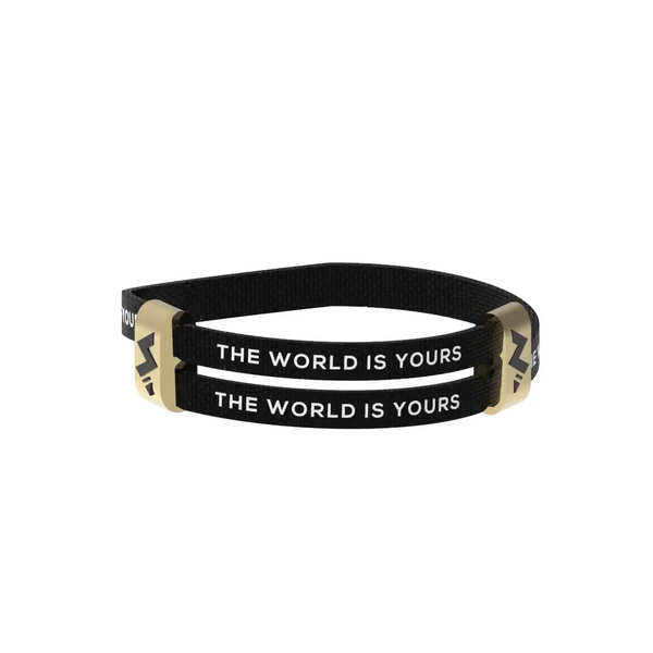3.0 THE WORLD IS YOURS - BLACK X GOLD