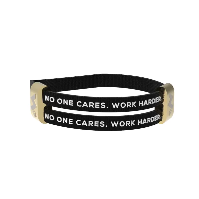 3.0 No One Cares, Work Harder - BLACK X GOLD