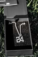 Load image into Gallery viewer, Custom Number Pendant [SILVER]