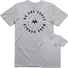Load image into Gallery viewer, No One Cares, Work Harder - Cotton Tee ( Grey )