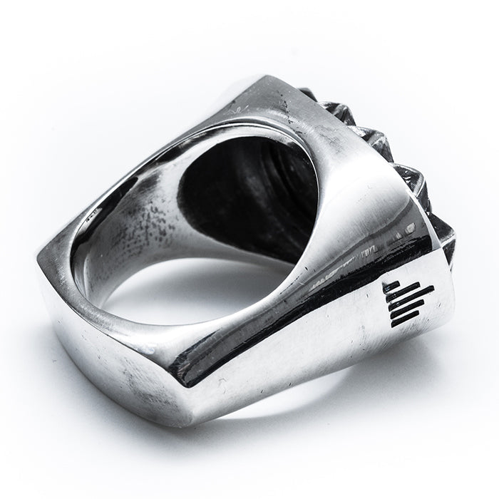 "【SALE 30%OFF】IKURA ""イクラ軍艦"" RING All Silver"