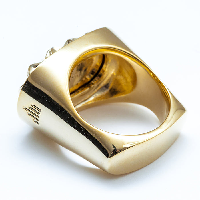 "【SALE 30%OFF】IKURA ""イクラ軍艦"" RING  All Gold"