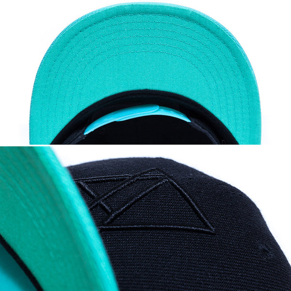 【SALE 70%OFF】LOGO SNAPBACK Black/Mint