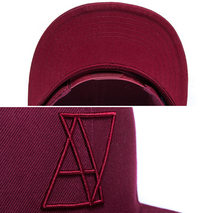 【SALE 70%OFF】LOGO SNAPBACK All Maroon