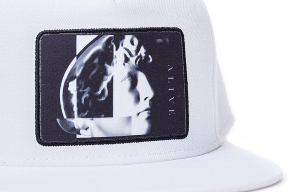 【SALE 30%OFF】ALIVE HAT NARCIST White