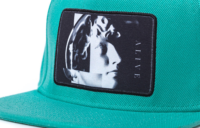 【SALE 70%OFF】 ALIVE HAT NARCIST Mint
