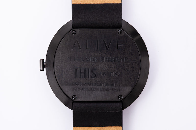 "ALIVE × THIS by INARI ""THIS IS IT"" WATCH & EYEWEAR SET ORANGE"