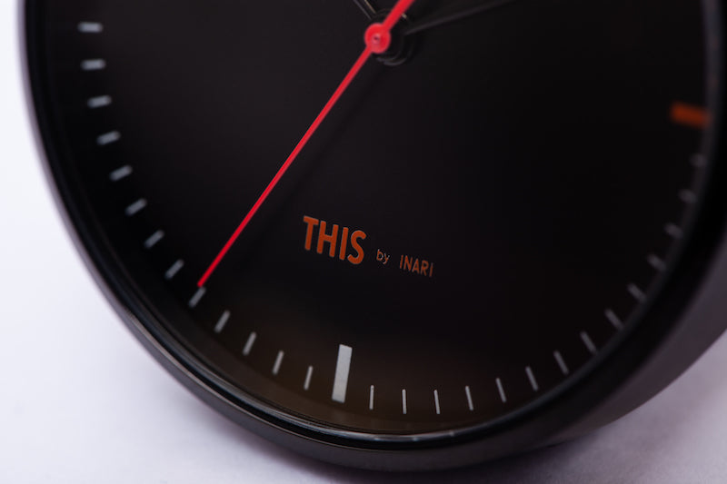 "ALIVE × THIS by INARI ""THIS IS IT"" WATCH & EYEWEAR SET BLACK"