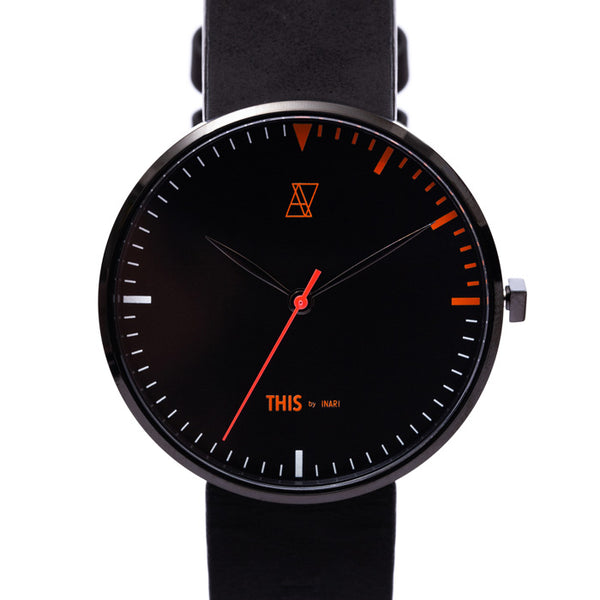 "【GUERRILLA SALE 40%OFF】ALIVE × THIS by INARI ""THIS IS IT"" WATCH & EYEWEAR SET BLACK"